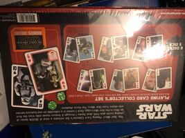 Star Wars Playing Card Collector's set