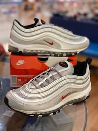 Silver Bullet Air max 97s size 10