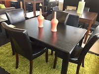 Black 5 Piece Dining Set  Norfolk, 23502