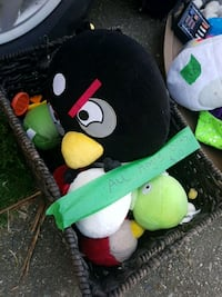 Angry birds and basket Surrey, V3R 2P3