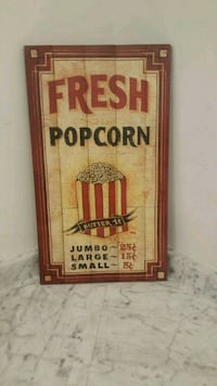 Popcorn sign Mount Airy, 21771