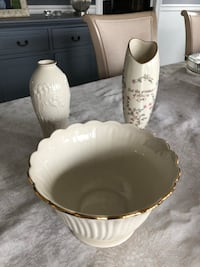Lenox vases and bowl Rumson, 07760
