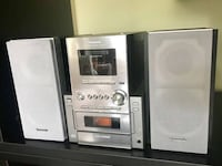 Panasonic CD Stereo System — $25 or OBO Washington, 20009