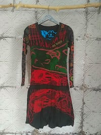 Desigual long sleeve cotton dress - size Small Kitchener, N2R 1L3