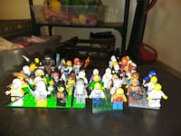 50 different lego people and accessories for them  Bakersfield, 93312