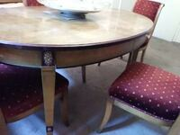 beige round wooden dining table Las Vegas, 89146