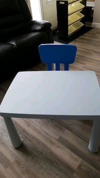 kids ikea table and chair Edmonton, T6X 0P6