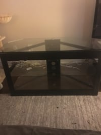 Black and Glass TV Stand Los Angeles, 90057