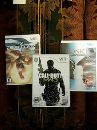 Wii console games Westminster, 21158