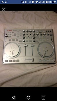 Gray vestax music mixer screenshot has cords  and you can get virtual Dj softweR free online Victoria, V8W 1Z4