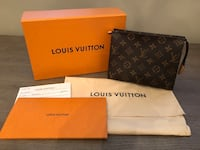 Brand New Authentic Louis Vuitton Monogram Toiletry Pouch 19 Puslinch, N1H