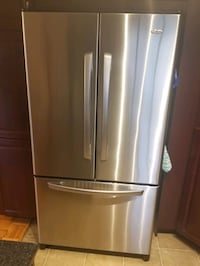 French door Stainless refrigerator
