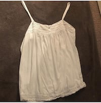 women's white spaghetti strap top Washington, 20024