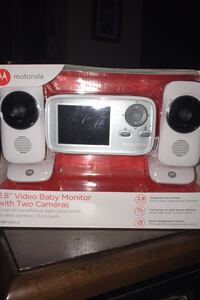 "Motorola 2.8"" Video Baby Monitor w/2 cameras Leesburg, 20175"