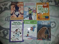 Set of 6 books for young reader's - see description for the titles Elkridge, 21075