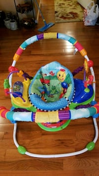 baby's blue, green, and red jumperoo Clinton, 20735