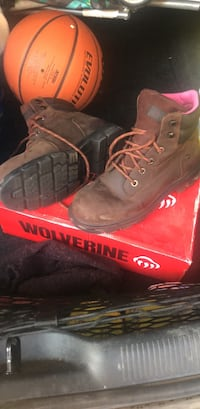 Woman's work boots. 8 1/2. Worn a couple of times. Odessa, 79762