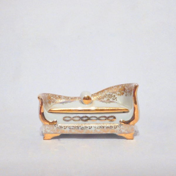 Limoges Jewellery Box - Hand Painted