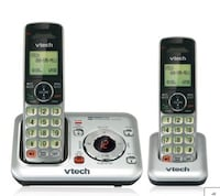 Vtech dual phone cordless expandable system with answering machine Nashua, 03062