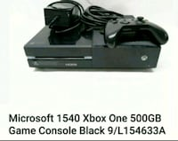 Xbox one with 1 controller and cables only  one  game.  150$ firm      Brampton