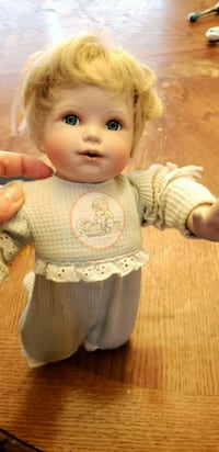 baby doll wearing white and pink dress Perth County, N0B