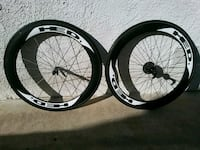 two black and white bicycle wheels La Puente, 91746
