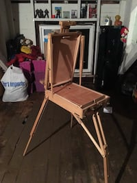 brown wooden easel Rochester, 14613
