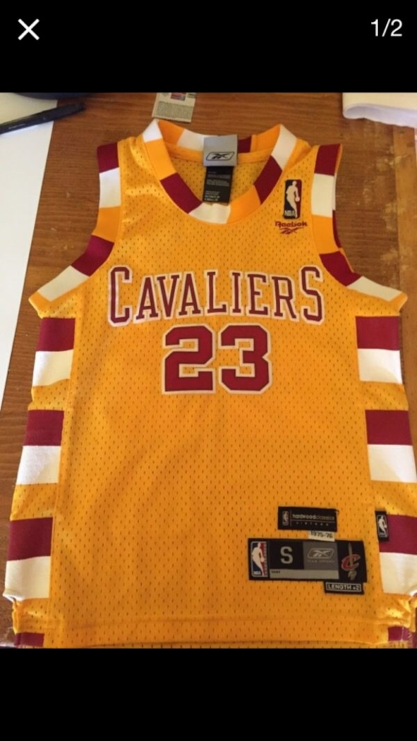 official photos 6a806 a0255 LeBron James Hardwood Classic Jersey YOUTH SMALL