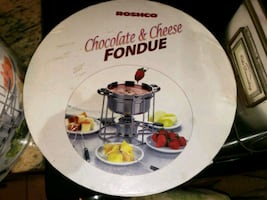 New fondue set
