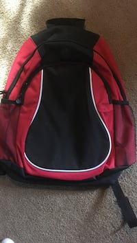 black and red backpack Paint township, 15963