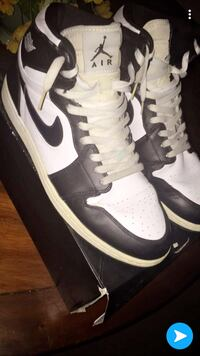 pair of white-and-black Nike sneakers Olathe, 66062