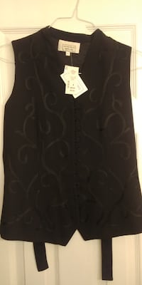 Woman's Vest -Black- Size 8 Brand New Mississauga