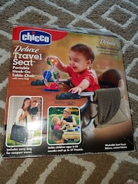 Used Chicco Deluxe Travel Seat Hook On Chair For Sale In
