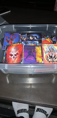 Assorted marvel collectors cards from the early 90's Vaughan, L4H 0W3