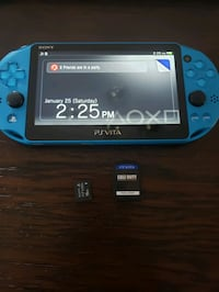 Ps vita with 16gb memory card and game