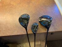 Golf Clubs Ping Woods: Driver, 3 Wood, 4 Hybrid set with head covers Star, 83669