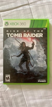 Xbox 360 Tomb Raider game case Arlington, 22201
