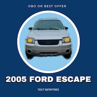2005 Ford Escape - Best Offer Calgary