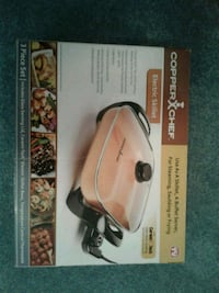 Copper Chef Electric Skillet  Springfield, 22150