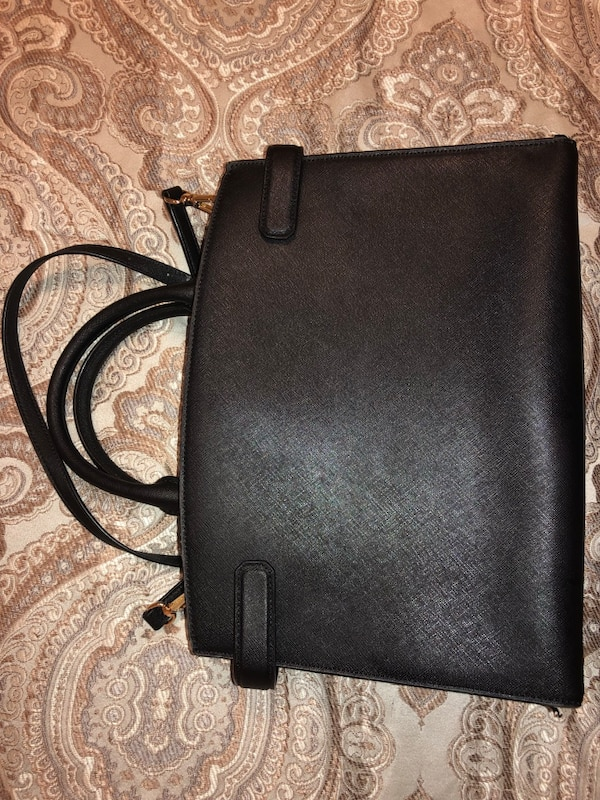 971a0fdb0f97 Used black Michael Kors leather tote bag for sale in Brandon - letgo