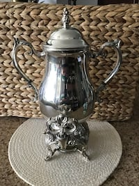 Silver plated coffee urn Toronto, M6N 4K6