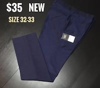 Topman Skinny Fit Navy Dress Pants  Montréal, H4M 2K7