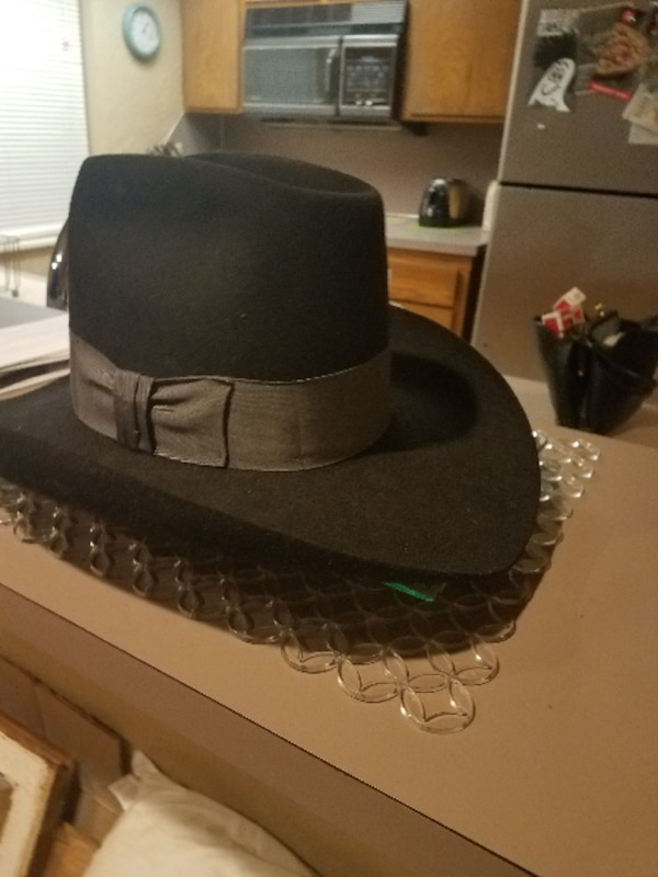 9a5750afdb253 Used Stetson hat 4x beaver black for sale in 73162 - letgo