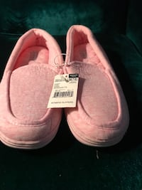 Pink k slippers