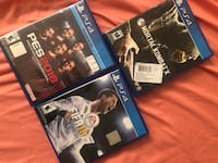 two Sony PS4 game cases Houston, 77082