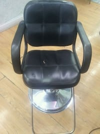 black leather padded rolling armchair Wheaton-Glenmont, 20902