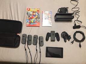 Nintendo Switch w/ games and accessories
