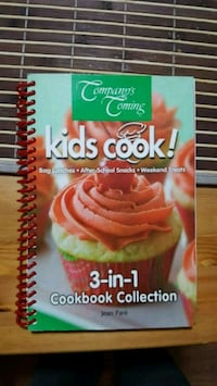 Company's Coming Kids Cook! 3-in-1 cookbook collection