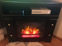 Electric Fireplace/heater Tv stand! Arlington Heights, 60004
