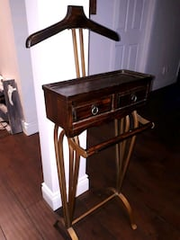 brown wooden single-drawer side table Laval, H7P 1C9